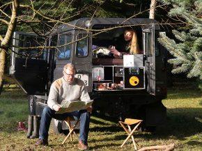 Campingbox für den Land Rover Defender