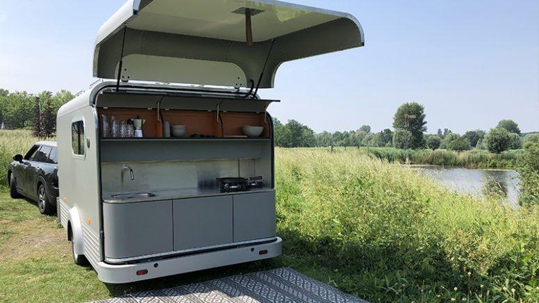 Wohnwagen Mit Außenküche : Teardrop wohnwagen lifestyle caravans im mini format focus online
