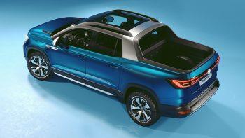 Sao Paulo International Motor Show: Volkswagen präsentiert Pick-up Studie Tarok Concept
